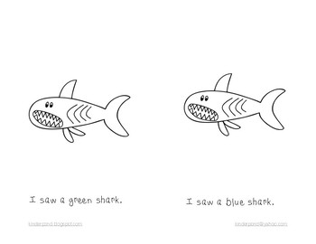 I Saw a Shark: Student Reading Book