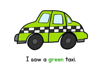 I Saw a Taxi: Shared Reading