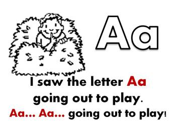 Learn the Alphabet Story and Coloring Booklet
