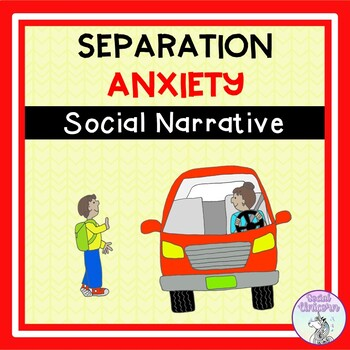 I Say Bye to My Mom (Separation Anxiety) - Social Story (FULL VERSION)