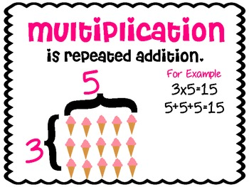 I Scream Array! {Multiplication}