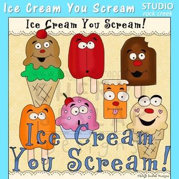 I Scream You Scream Clip Art C Seslar