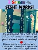 I Scream for Sight Words!