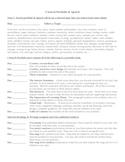 I Search/ Research Portfolio and Speech Presentation