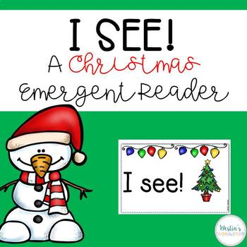 I See! A Christmas Emergent Reader