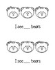 I See:  A Counting Printable Book