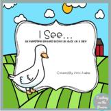 I See.... A Duck on A Bike Emergent Reader