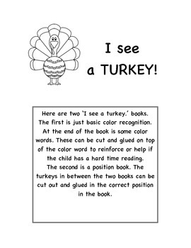 I See A Turkey
