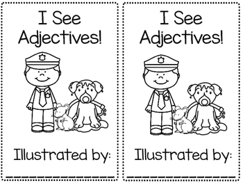 I See Adjectives reader