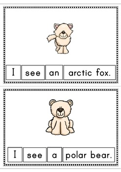 I See An Arctic Animal Easy Reader Patterned Sentences for Beginning Readers