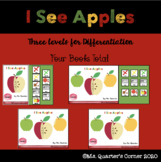 I See Apples - Core Vocabulary - Adapted Books