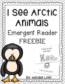 I See Arctic Animals Emergent Reader FREEBIE