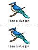 I See Backyard Birds Emergent Reader