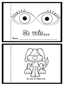 """I See..."" Booklet - French / English"