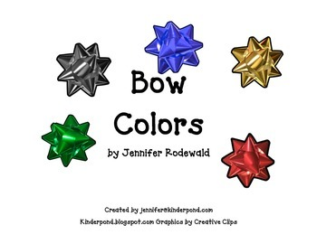 I See Bows : Shared Reading Book