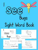 I See Bugs Interactive Sight Word Book