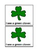 I See Clovers Emergent Reader book in color for Preschool & Special education