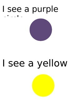 I See Color Book