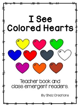 I See Colored Hearts - Teacher and Class Book