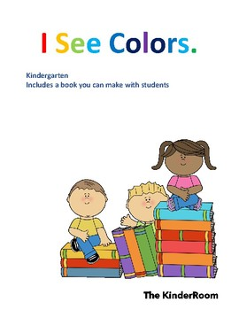 Book: I See Colors.