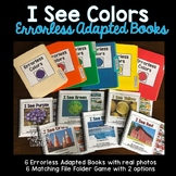I See Colors Adapted Book Pack