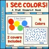 I See Colors PreK  Book