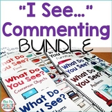 I See Commenting Interactive BUNDLE!! {Level 1}