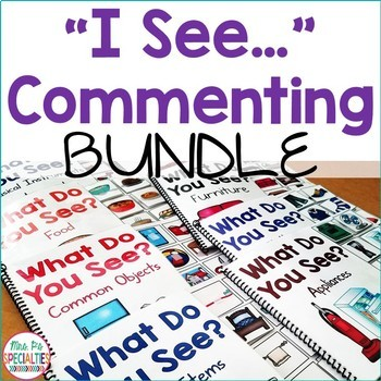 Interactive Books Bundle for Commenting (Adapted Books For Special Education)