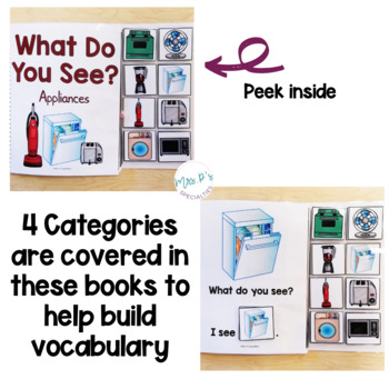 I See Commenting Interactive Books *SET 4*   Level 1