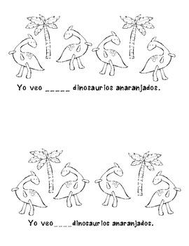 I See Dinosaurs Spanish Edition