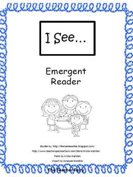 I See- Emergent Reader