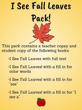 I See Fall Leaves