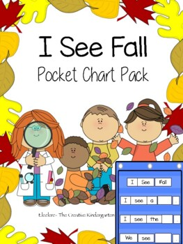 I See Fall {Pocket Chart Sentence-Builders Pack}