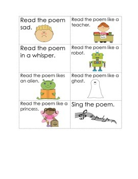 I See Fall: Seasonal Poem and Concept of Word Activities for Pocket Chart