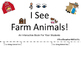 I See Farm Animals - Interactive Book