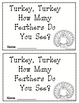 I See ... Feathers  (Thanksgiving Emergent Reader)