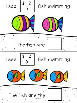 I See Fish Swimming Mini Adapted Book