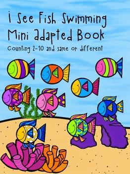 I See Fish Swimming Mini Adapted Book