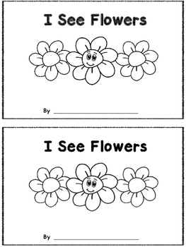 I See Flowers - A Count and Stamp