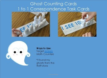 I See Ghosts Counting and 1 to 1 Correspondence
