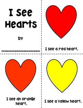 I See Hearts Coloring Booklet