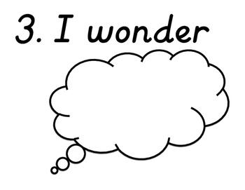 I See, I Think, I Wonder