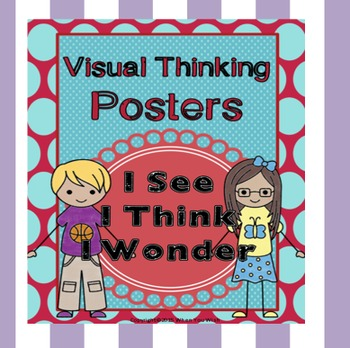 I See, I Think, I Wonder... Visual Thinking Posters