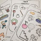 Coloring Worksheets for Articulation of R and R blends:  I See It plus Cariboo