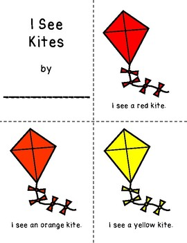 I See Kites Coloring Booklet