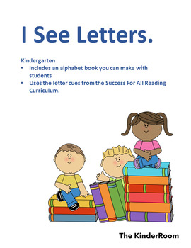 Book: I See Letters.