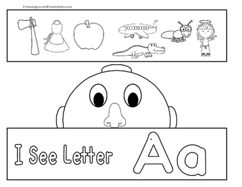 I See Letters Aa Thru Zz Head Bands