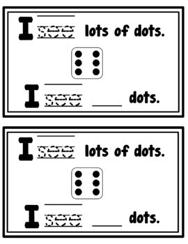 I See Lots of Dots Math Emergent Reader (Sight Word: See)