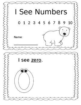 Book: I See Numbers.