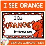 Colors I See Orange Interactive Book Animals
